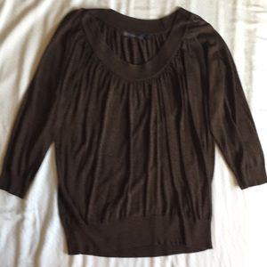 Brown sweater xl